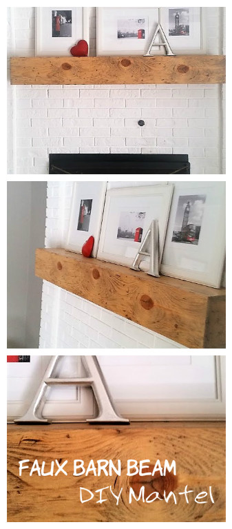 Faux Barn Beam